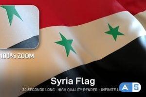 Videohive – Syria Flag 24643671