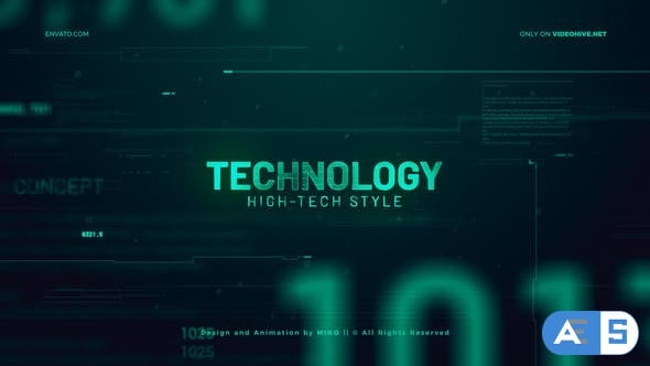 Videohive High Technology Promo Slideshow 24782958