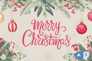 Videohive Christmas Card Opener 25319305