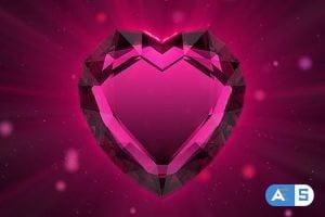 Videohive Valentine`s ruby heart 86216