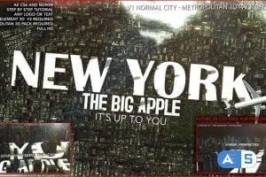 Videohive 3D City Logo 24819029