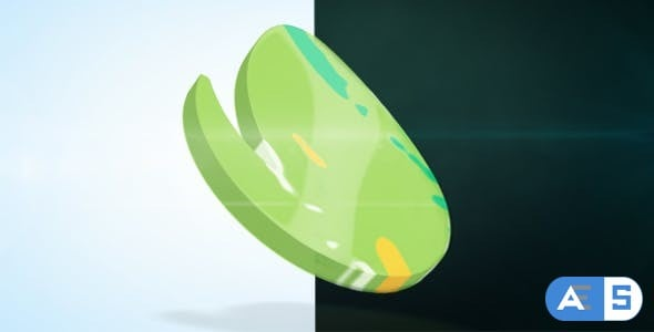 Videohive 3D Liquid Logo 17527784