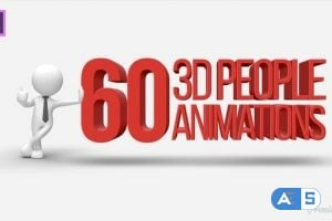 Videohive 3D People Animations Essential Graphics | Mogrt 22002736