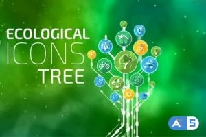 Videohive Ecological Icons Tree 14843743