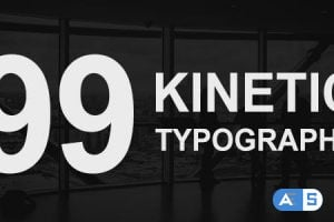 Videohive 99 Kinetic Titles Pack 17742548