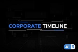 Videohive Corporate Timeline Cinematic Slideshow 23680570
