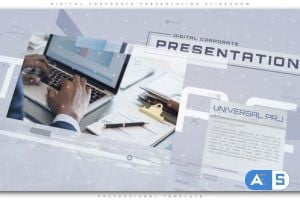 Videohive Digital Corporate Presentation Slideshow 22668630