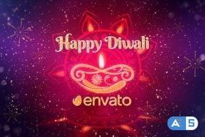 Videohive Diwali Festival Wishes 24873508