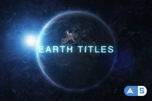 Videohive Earth Titles 11023179