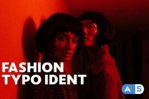 Videohive Fashion Ident // Typo Opener | For Final Cut & Apple Motion 23795945