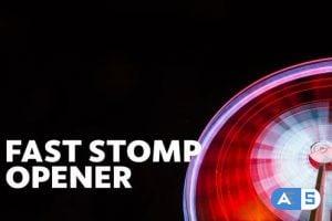 Videohive Fast Stomp // Typo Opener | Essential Graphics | Mogrt 23479721