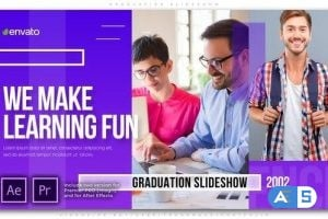 Videohive Graduation Slideshow 25559636