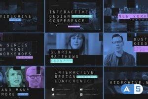 Videohive Interactive Design Conference – Event Promo 25399411