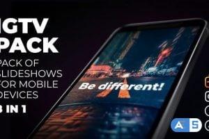 Videohive Instagram Slideshow Pack – IGTV, Post, Stories 24119795