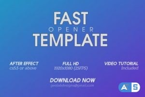 Videohive Fast Opener 3 23381352