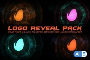 Videohive Logo Intro Fire / Logo Reveal Pack 20781307