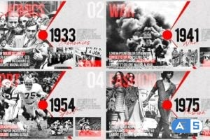 Videohive Moments of History – Timeline of Events 24870166