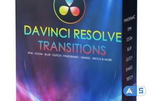 VHS Studio – VHS DaVinci Resolve Transitions