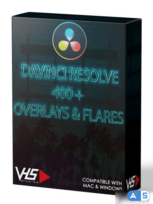 VHS Studio – VHS DaVinci Resolve 400+ Overlays & Flares