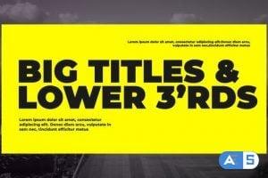 Videohive Corporate Big Titles 23804689