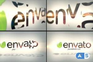 Videohive Corporate Flip Logo Reveal 9235048