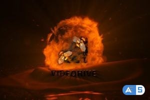 Videohive Fire Orb 16775275