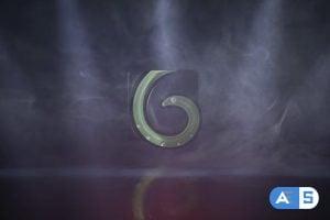 Videohive Logo Reveal Smoke 23823629