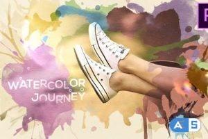 Videohive Watercolor Journey 22438051