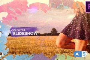 Videohive Watercolor Parallax Slideshow 24089907