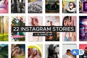 Videohive Fresh Instagram Stories 24701069