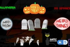 Videohive Halloween Titles 24866325