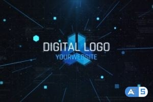 Videohive Digital Logo Opener 24802271