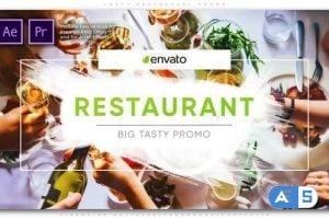 Videohive Tasty Restaurant Promo 25559626