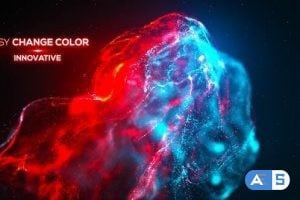 Videohive Smoke Particle Titles – Advection 24725970