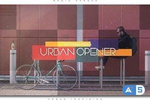 Videohive Urban Inspiring Media Opener | Slideshow 20195735