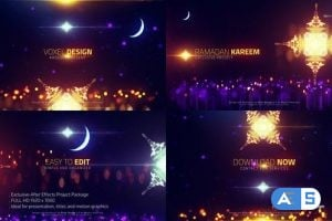 Videohive Ramadan cinematic titles 23697279