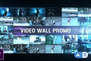 Videohive Video Wall Promo 25509555