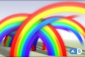 Videohive Rainbow Reveal 110768