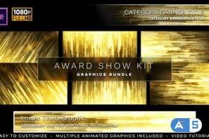 Videohive Awards Show Kit 24867216