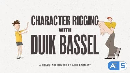 Character Rigging With Duik Bassel