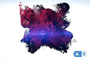 Videohive Glossy Particle Logo 4224318
