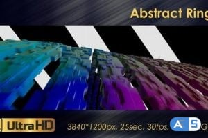 Videohive Abstract Rings 23126285