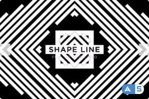 Videohive Shape Line Vj Loops Background 24593404