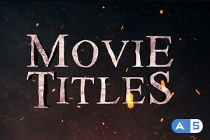 Videohive Movie Titles 21226201