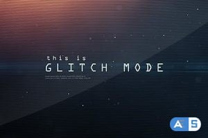 Videohive Glitch Mode – Text Sequence and Logo Intro 6230289