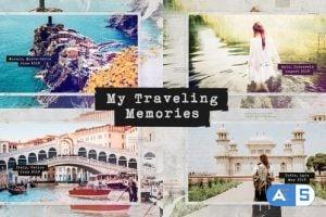 Videohive Traveling Memories / Journey Photo Album / Family and Friends / Adventure Slideshow 24759089