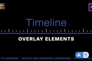 Videohive Easy Timeline Elements 24813597