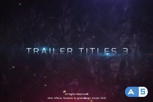 Videohive  Trailer Titles 3 15925573