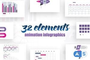 Videohive Infographics vol.14 25615652