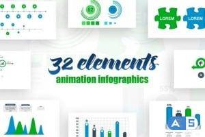 Videohive Infographics Vol.17 25631235